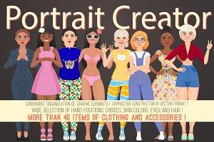 Character portrait creator