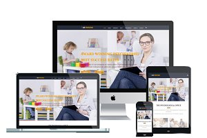 AT Psycho Onepage Joomla Template