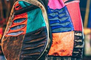 Creative Nepali Colorful Backpack