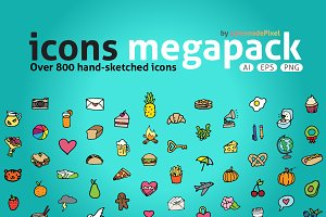 Icons Megapack - Save 50%!