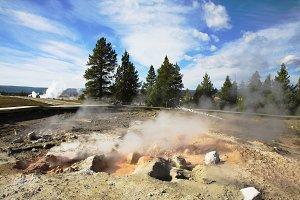 Geothermal mineral waters