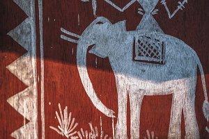 Illustration of Tribal Elephant