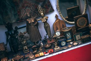 Vintage Golden Statues for Sale