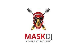 Mask Dj Logo