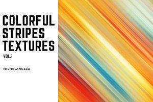 15 Colorful Stripes Textures vol.1
