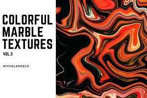 11 Colorful Marble Textures vol.3