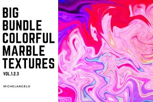 Big Bundle Marble Textures vol.1-3