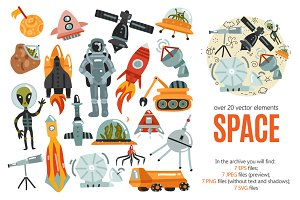 Space Exploration Set