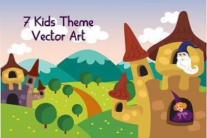 Kids Theme & Background Bundle