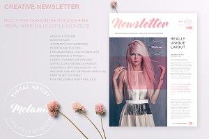 Melanie - Creative Newsletter