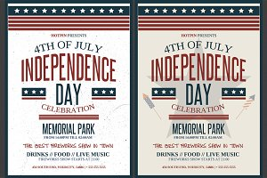 4th July / Independence Day Flyer