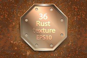 36 vector rust texture