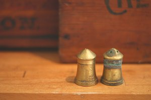 Antique Salt Shakers