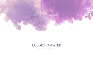 acrylic colors in water