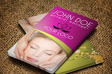 Spa Center Business Card