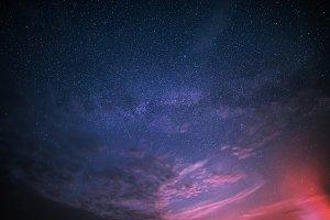 Star sky background