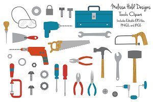 Tool and Hardware Clipart