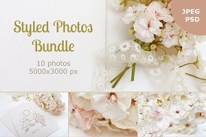 Styled photos bundle