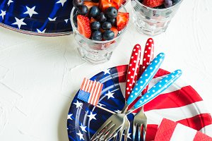 4th July food concept