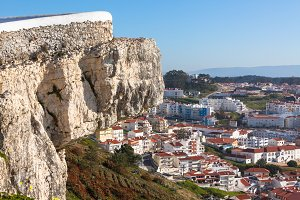 Nazare, Portugal, View from Cliff