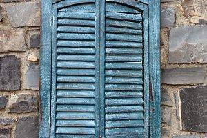 Vintage Window Shutters