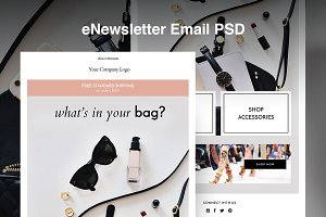 Fashion eNewsletter Email PSD