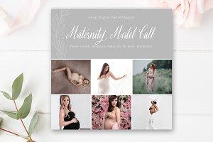 Maternity Model Call Template