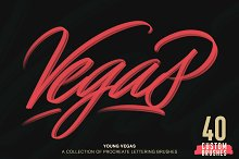 Young Vegas Brushes for Procreate by Adrian Meadows in Brushes