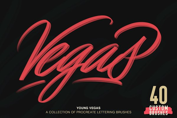 Add-Ons - Young Vegas Brushes for Procreate