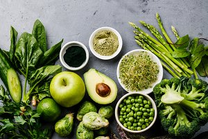 Healthy Green food