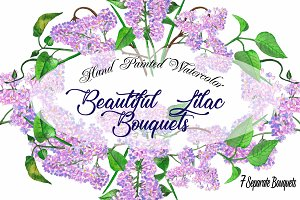Lilac Spring Bouquets