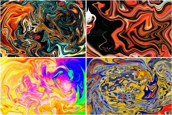 11 Colorful Marble Textures vol.3 in Textures - product preview 13