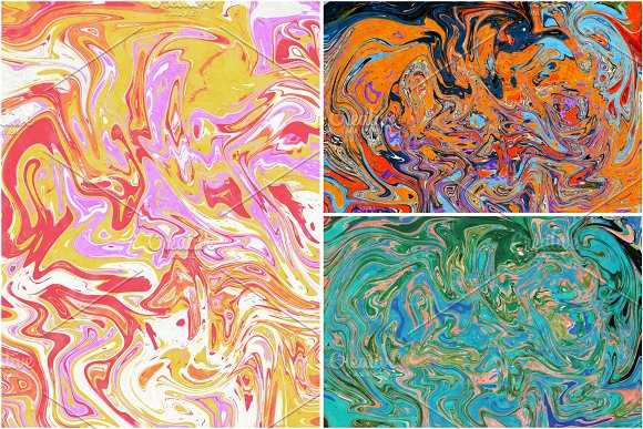 11 Colorful Marble Textures vol.3 in Textures - product preview 14