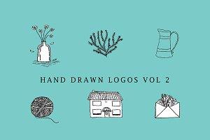 Hand Drawn Logos- Vol 2