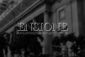 Font | ENSIONE