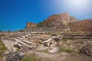 photo of ancient city Hierapolis