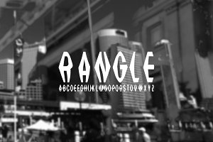 Font | RANGLE - ONLY 2$