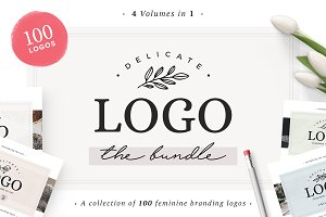 100 Delicate Feminine Logos
