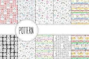 20 funny cats patterns for children!