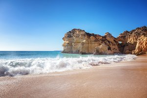 Atlantic shore, Portugal
