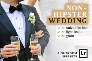 LR Presets - Non-Hipster Wedding