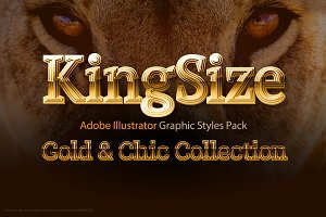 AI CS5 graphic styles King Size