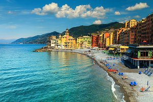Camogli tourist resort, Italy