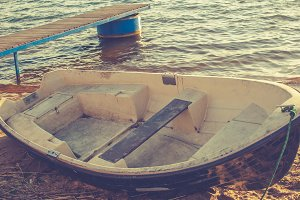 Boat on the shore 2