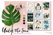 Under the Sun - Summer Clip art