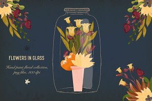 Flowers in Glass