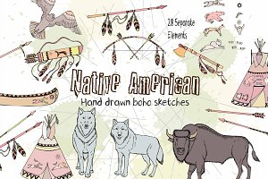 Native American Clip Art