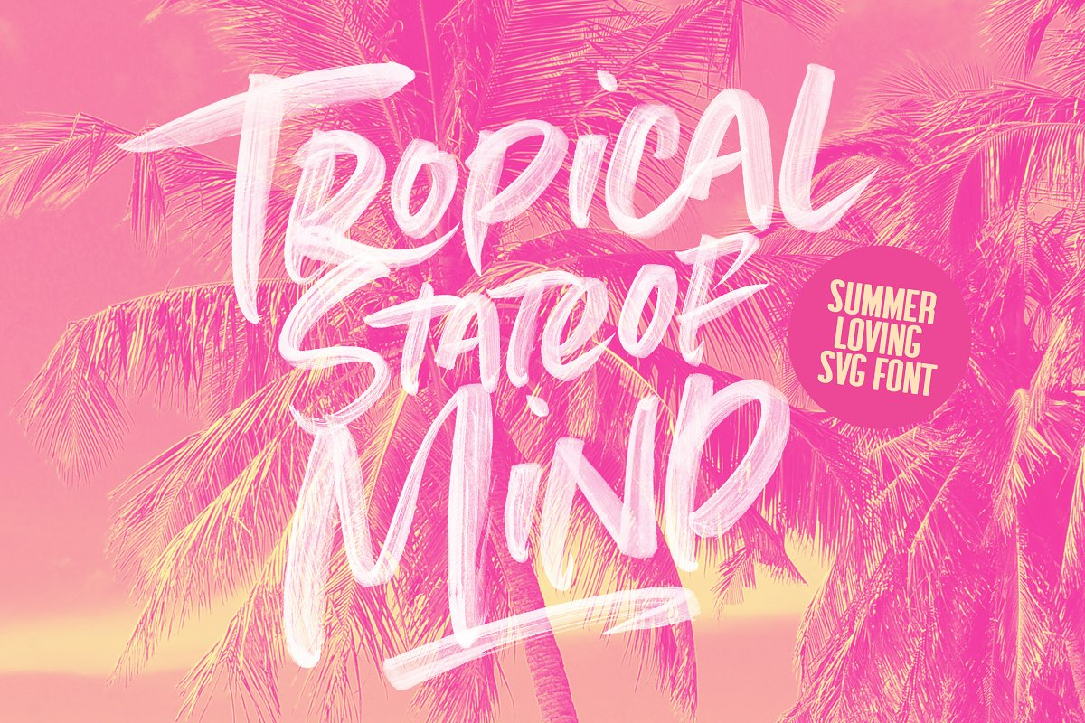 Summer Loving Font Collection in Display Fonts - product preview 37