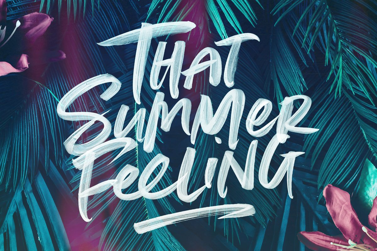 Summer Loving Font Collection in Display Fonts - product preview 36