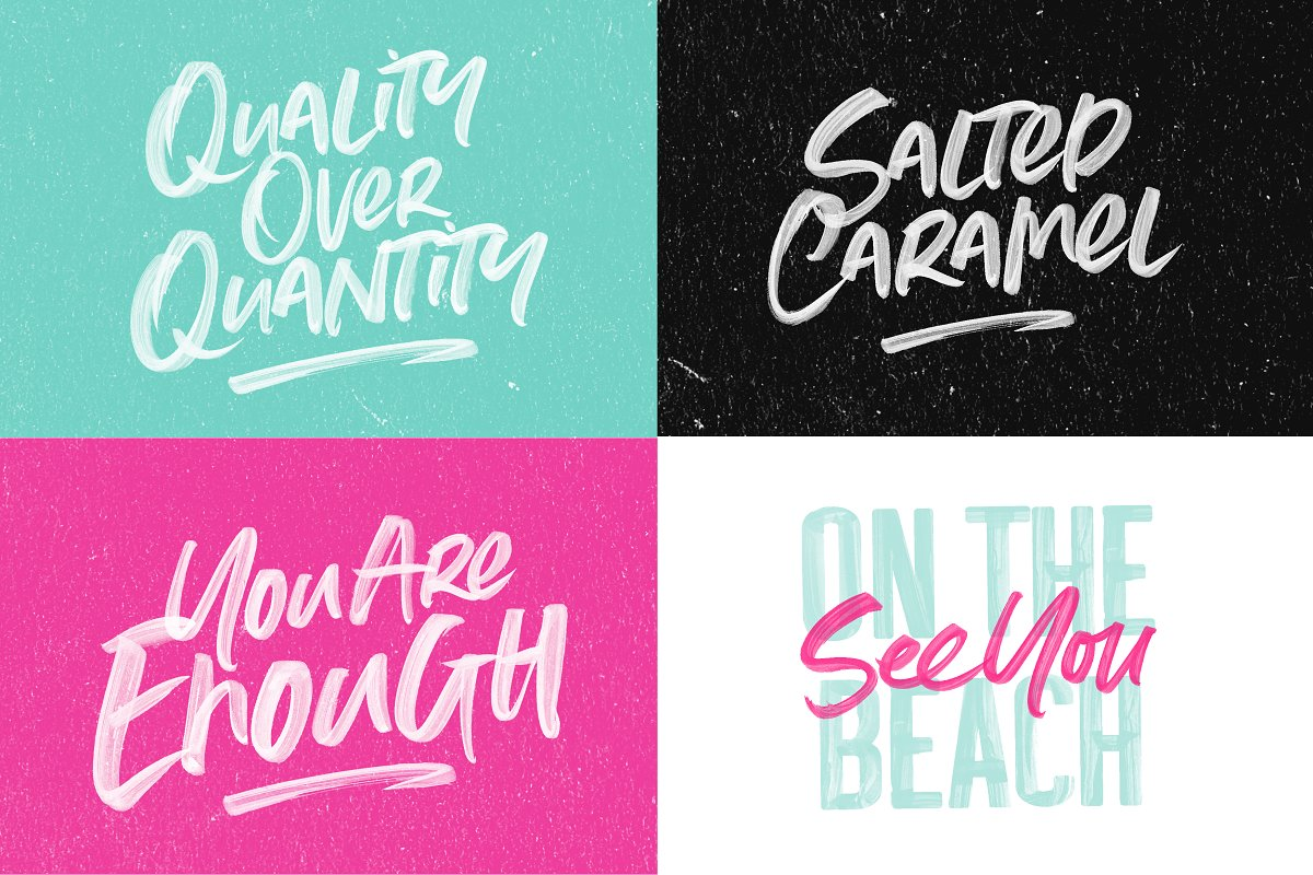 Summer Loving Font Collection in Display Fonts - product preview 10